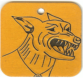 dangerous dog tag
