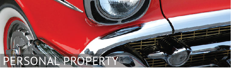 personal property banner