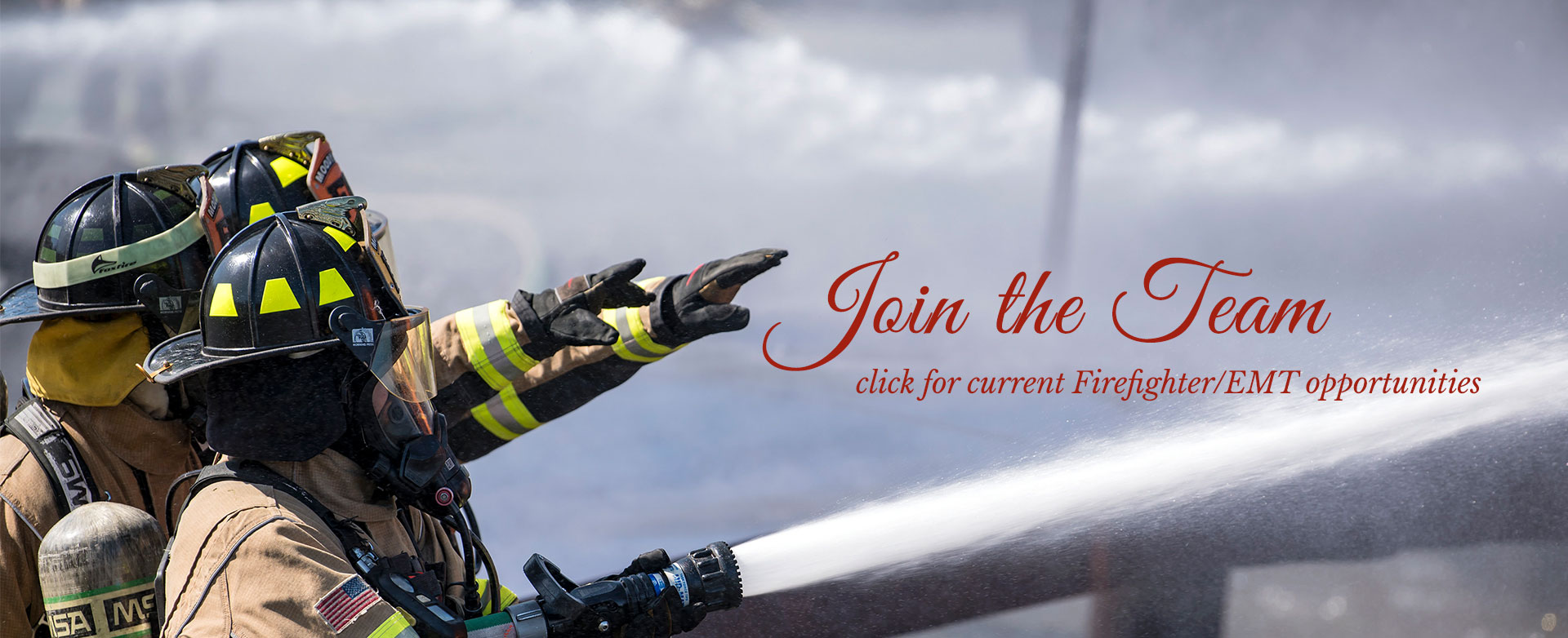 Fire & Rescue Now Recruiting
