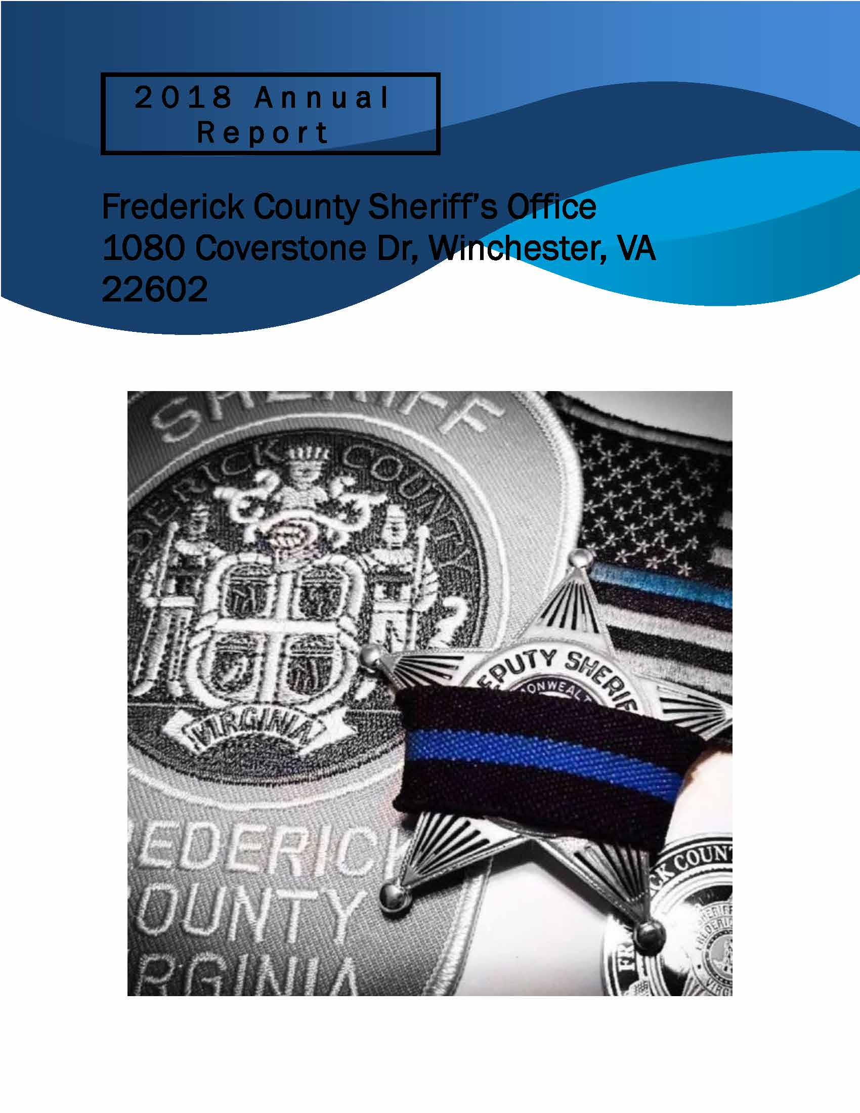 Sheriff's Office 2018 Annual Report